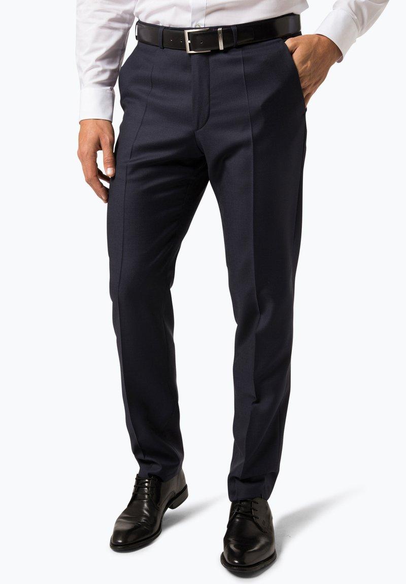 Digel - Suit trousers - marine
