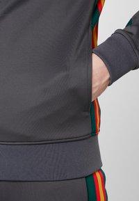 Luke 1977 - JAGUAR - Zip-up sweatshirt - charcoal - 4