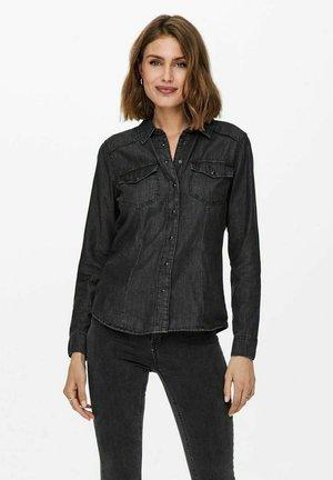 Skjorta - black denim