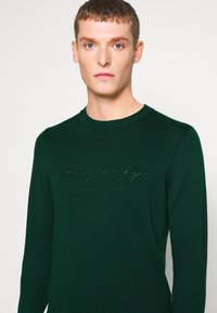 Tommy Hilfiger - TONAL AUTOGRAPH - Pullover - green - 5