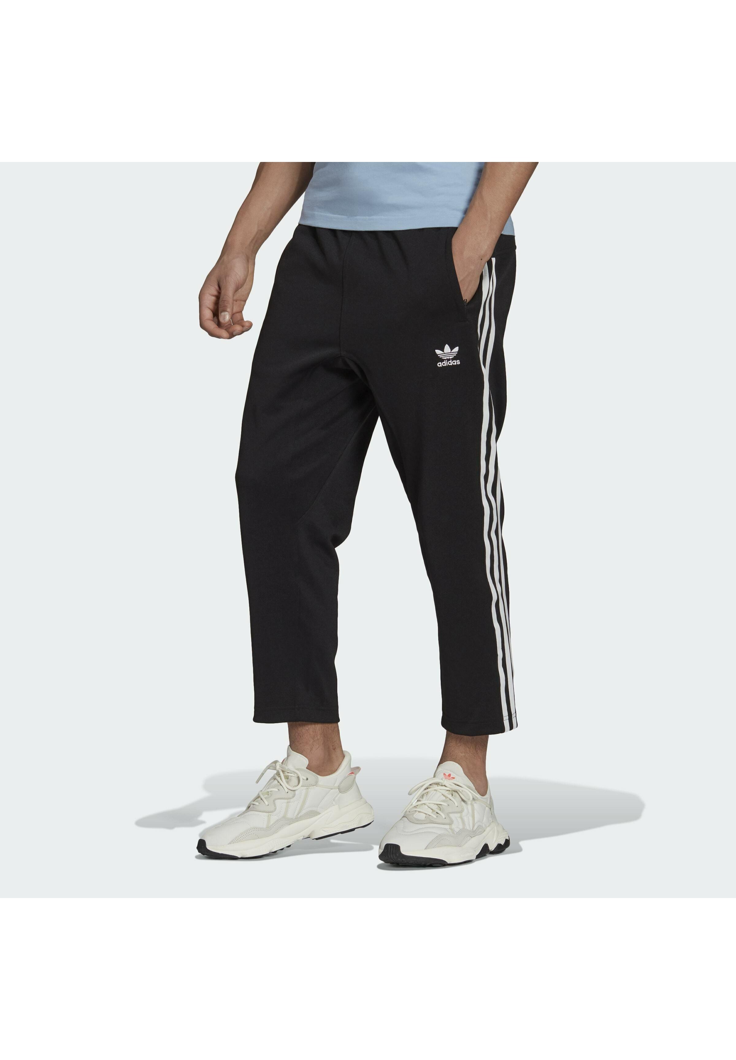 Homme 3-STRIPES 7/8 ORIGINALS ADICOLOR PRIMEBLUE TRACK PANTS RELAXED - Pantalon de survêtement