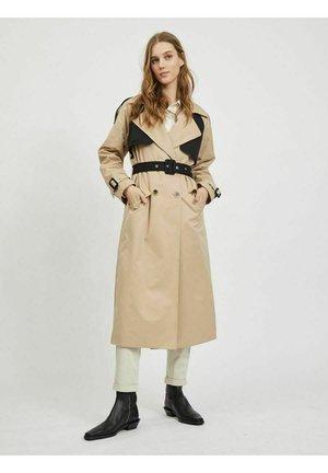 Trenchcoat - beige black