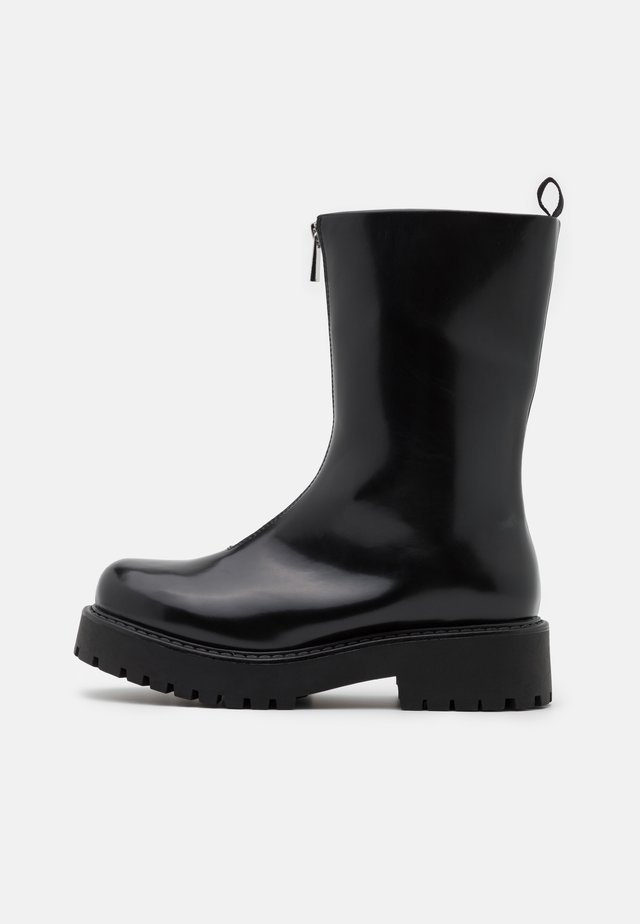 ELAINE BOOT VEGAN - Platform ankle boots - black
