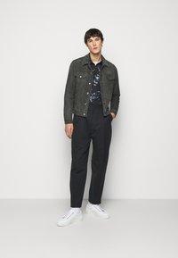 Paul Smith - GENTS - Leather jacket - dark grey - 1