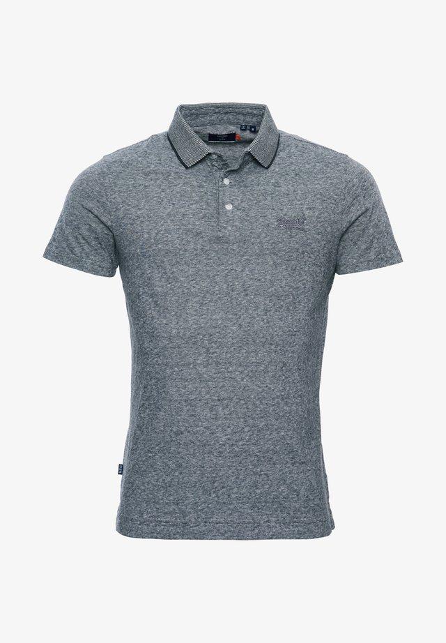 Poloshirt - stone grey feeder