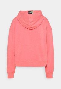 Nike Sportswear - WASH HOODIE - Sweatshirt - sunset pulse/black - 7