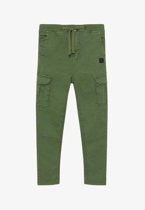 GERMALDO - Pantaloni cargo - vineyard green