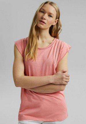 TEE LADDER - Print T-shirt - pink