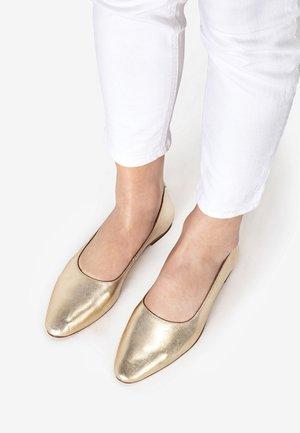 Ballet pumps - gold gld