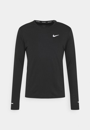 MILER - Camiseta de manga larga - black/silver