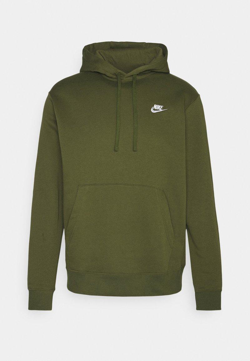 Nike Sportswear - CLUB HOODIE - Hættetrøjer - rough green/white