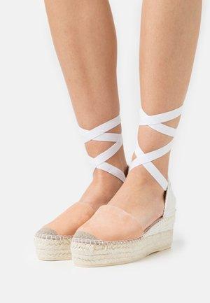 JAVA  - Platform sandals - salmon