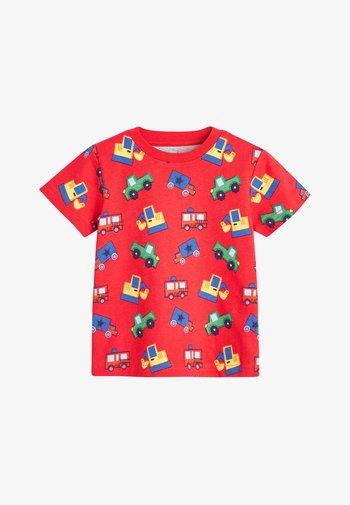 3 PACK MULTI PRINT SHORT PYJAMAS - Pyjama set - red