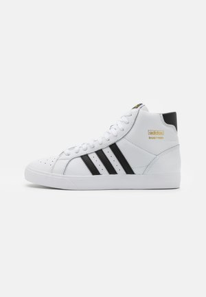 BASKET PROFI UNISEX - Korkeavartiset tennarit - footwear white/core black/gold metallic
