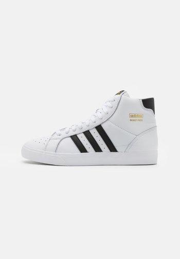BASKET PROFI UNISEX - High-top trainers - footwear white/core black/gold metallic