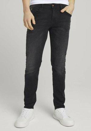 Jean slim - clean mid stone grey denim