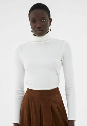 Long sleeved top - blanc cassé