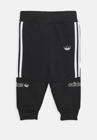 adidas Originals - CREW SET - Träningsset - blue/white/black - 2