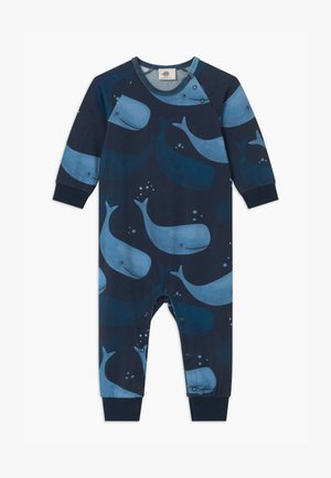SMILING WHALES BABY UNISEX - Pijama - blue