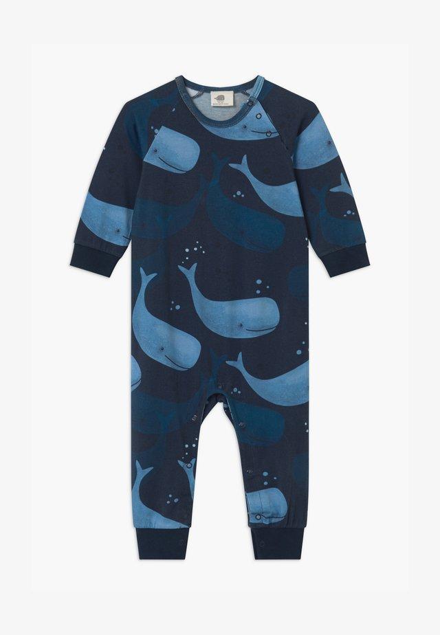 SMILING WHALES BABY UNISEX - Pyjamas - blue