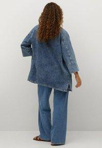 Violeta by Mango - Denim jacket - mittelblau - 2