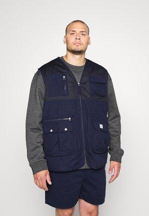 JORFESTIVAL GILLET - Vesta - navy blazer