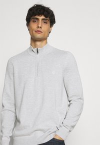 Marc O'Polo - TROYER WITH ZIP - Jumper -  grey - 3
