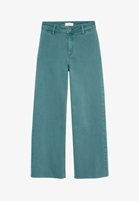 Mango - OLIVIA - Straight leg jeans - smaragdgroen - 0