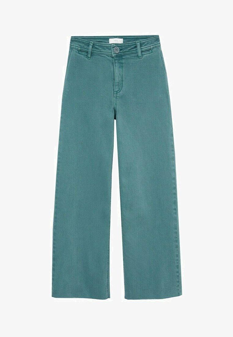 Mango - OLIVIA - Straight leg jeans - smaragdgroen