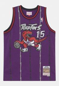 Mitchell & Ness - NBA TORONTO RAPTORS VINCE CARTER UNISEX - Club wear - purple - 0