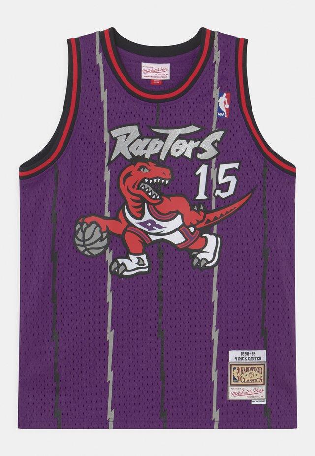 NBA TORONTO RAPTORS VINCE CARTER UNISEX - Klubtrøjer - purple