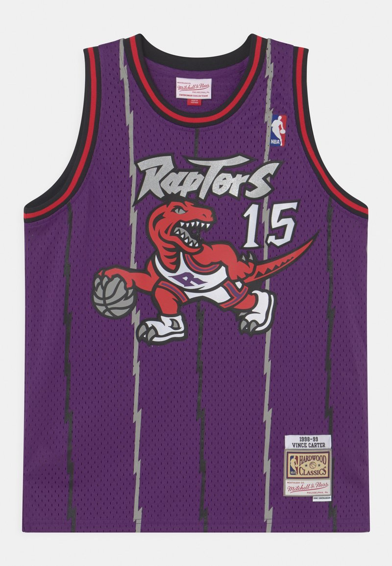 Mitchell & Ness - NBA TORONTO RAPTORS VINCE CARTER UNISEX - Club wear - purple