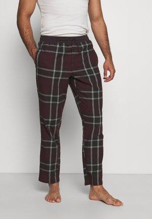 CORE PYJAMA PANTS - Pyjamahousut/-shortsit - tartan