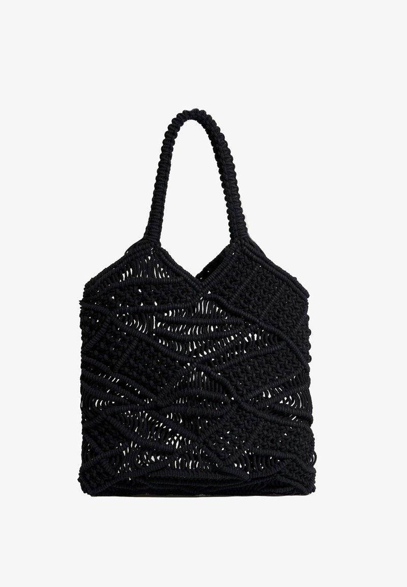 OYSHO - Tote bag - black