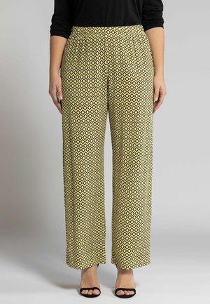 Trousers - jaune