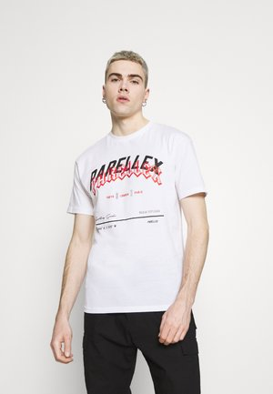 SHAY TEE - T-shirt med print - white