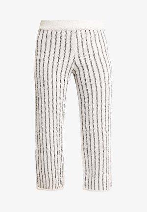 Pantalon classique - beige/black