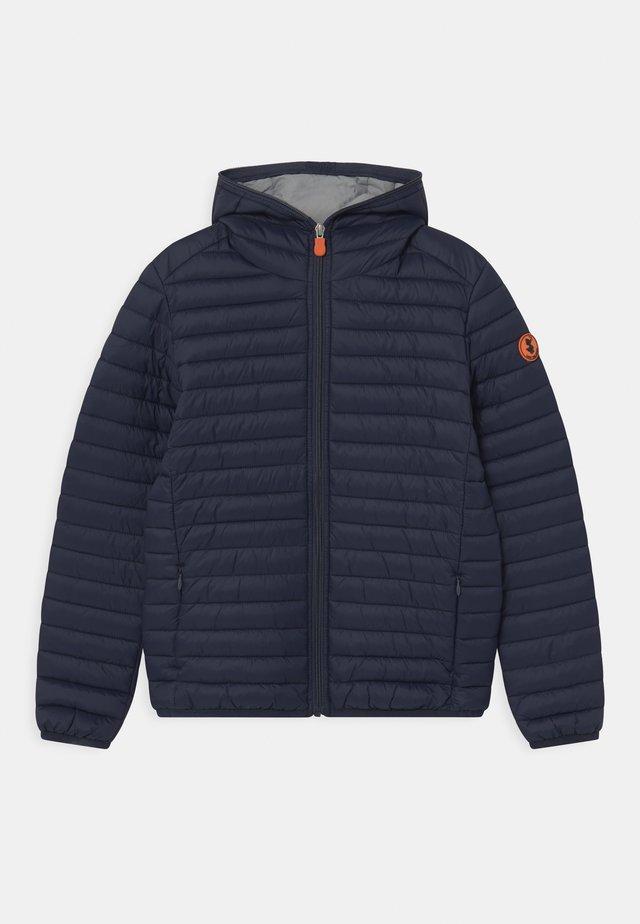 EVAN HOODED UNISEX - Light jacket - navy blue