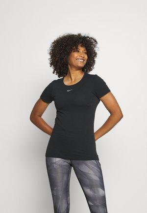 AURA SLIM - T-shirt basic - black