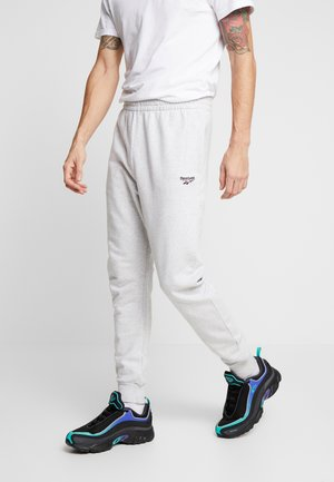 VECTOR PANT - Tracksuit bottoms - mottled light grey