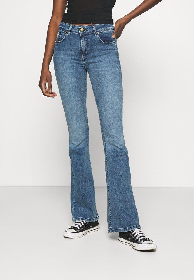 RAVAL - Flared jeans - cobalt stone