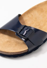 ONLY SHOES - ONLMADISON SLIP ON - Domácí obuv - blue - 2