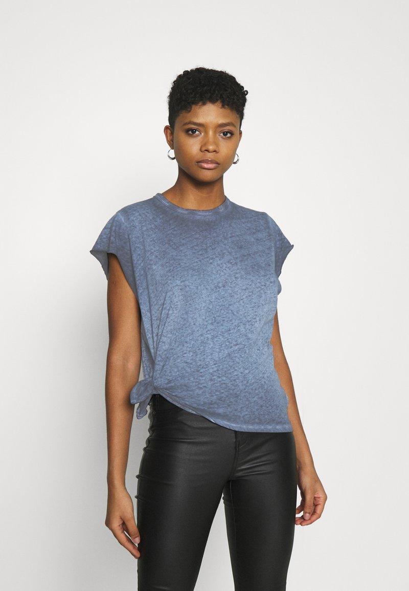 G-Star - GYRE KNOT CAP - Print T-shirt - blue