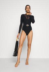 JETS BY JESSIKA ALLEN - SURF SUIT - Swimsuit - black - 1