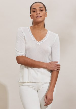 GLADYS - Print T-shirt - light chalk