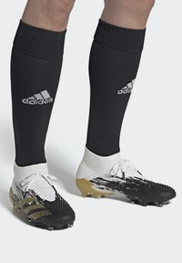 adidas Performance - FOOTBALL FIRM GROUND - Moulded stud football boots - ftwwht/goldmt/cblack - 0