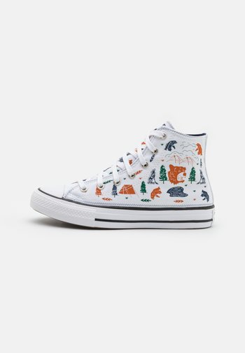 CHUCK TAYLOR ALL STAR UNISEX - Sneakers alte - white/midnight navy/black