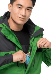 Jack Wolfskin - JASPER FLEX  - Hardshell jacket - basil green - 3