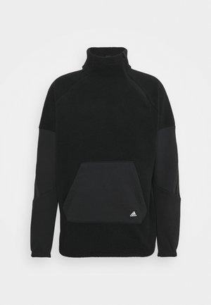 WINTER ZIP FUTURE ICONS - Fleece jumper - black