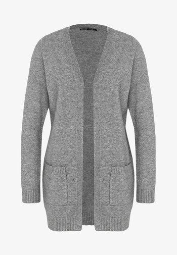 ONLLESLY L/S  NOOS - Chaqueta de punto - medium grey melange